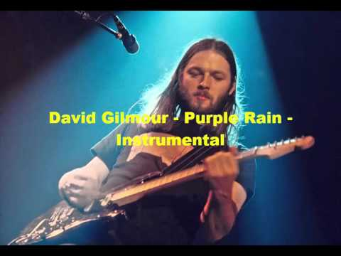 Purple Rain - David Gilmour