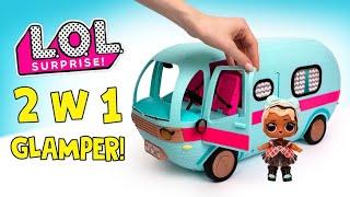 L.O.L. Surprise 2 w 1 Glamper z Ekskluzywną Lalką! 🚙🧺