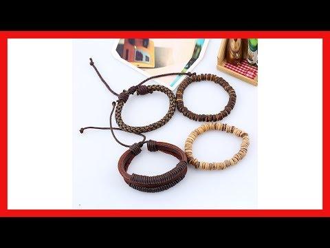 Leather Bracelets Men For Women | bracelets | bracelets mens | Coconut Shell Beads