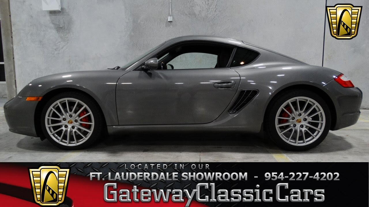 2008 porsche cayman s gateway classic cars of fort lauderdale 42