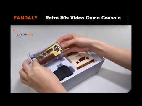 Fandaly Best Retro 80s Video Game Console