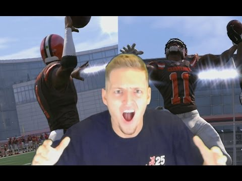 Can TERRELLE PRYOR Throw a 99 YARD TOUCHDOWN PASS To HIMSELF? Madden NFL 17 Challenge
