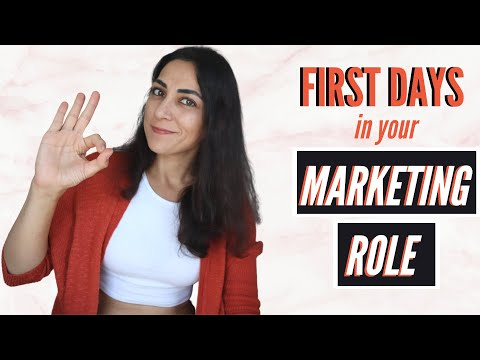 What To Do When You START A NEW MARKETING JOB // Succeeding in a marketing job on your first days