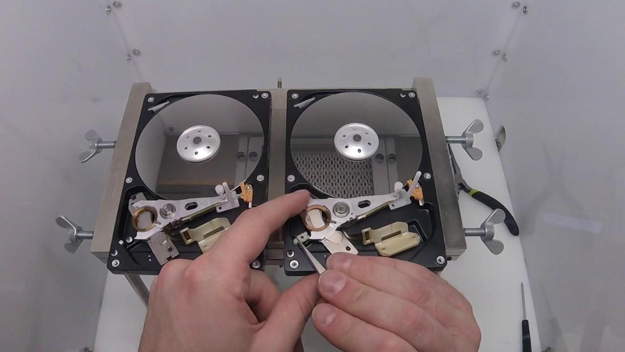 Toshiba 3 5 Dt01aca100 Hard Drive Data Recovery Head Swap 300 Dollar