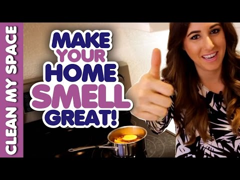 7 Ways to Make Your Home Smell Fresh & Clean! DIY Air Fresheners! (Clean My Space)