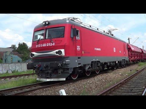 Private freight train DB Schenker  Transmontana 480-012-0