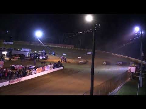 Super Late Model Heat #2 from Lake Cumberland Speedway, November 11th, 2017.