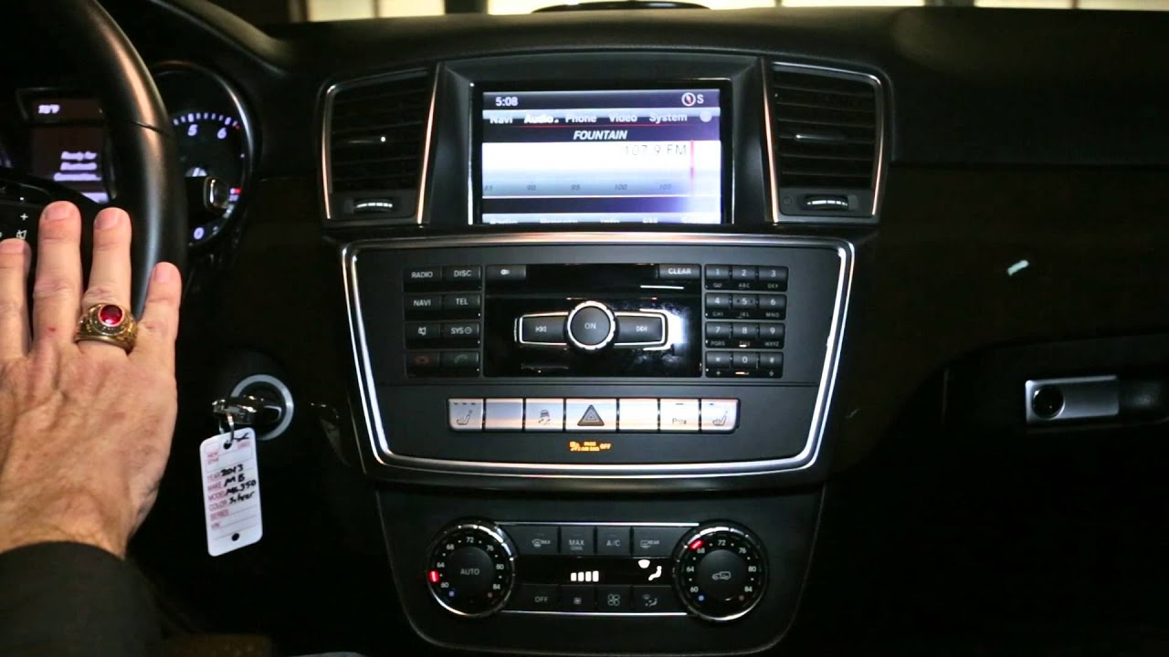 SOLD 2013 Mercedes Benz ML350 For Sale Interior