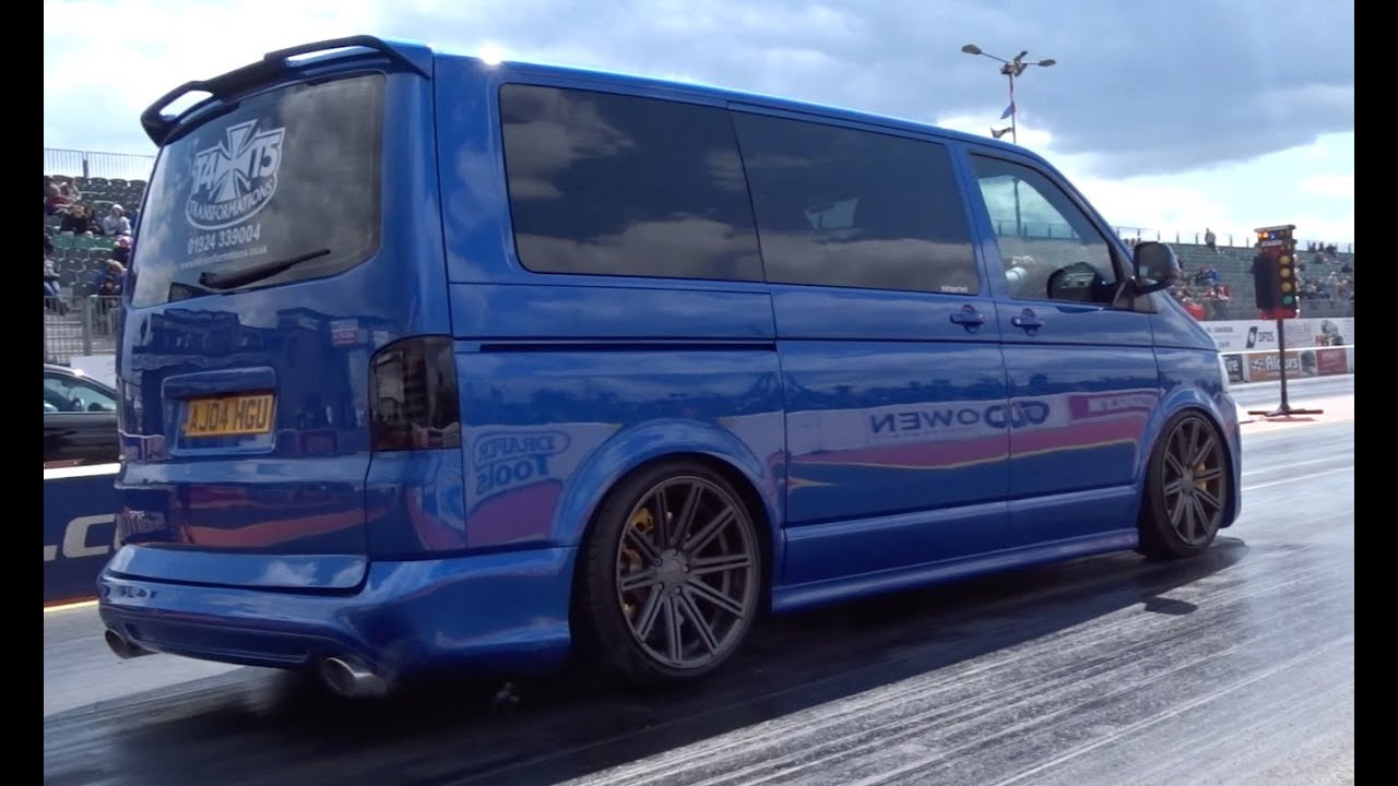 400 bhp audi rs4 powered vw t5 transporter 14 5 99mph. Black Bedroom Furniture Sets. Home Design Ideas