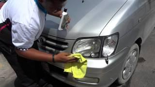 Meguiars PlastX Clear Plastic Cleaner & Polisher Demo Automotive Art Antigua