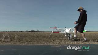 Draganfly Tango2 Long Endurance Fixed-Wing Aircraft - Takeoff Sequence