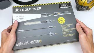 Trên tay đèn LEDLENSER 4 trong 1 rất CHẤT