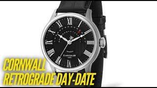 Thomas Earnshaw Cornwall Retrograde Day Date Watch Review - New Watch 2018!