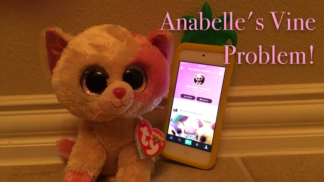 Beanie Boo s  Anabelle s Vine Problem! - YouTube f83167d0db5