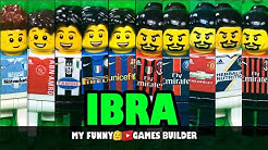 IBRAHIMOVIC Evolution in LEGO • IBRA legend 1999-2020 • Zlatan Ibrahimović from zero to hero 🦸