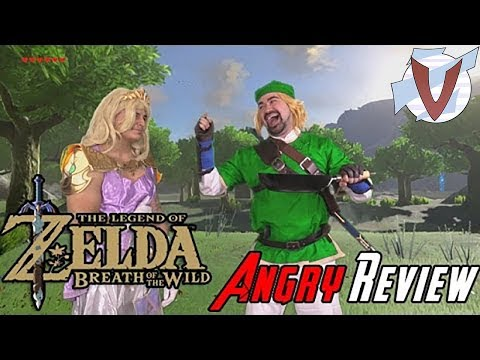 The Legend Of Zelda: BoTW [Angry Joe - RUS RVV]