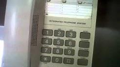 NEC SL1000 ประชุมทางโทรศัพท์