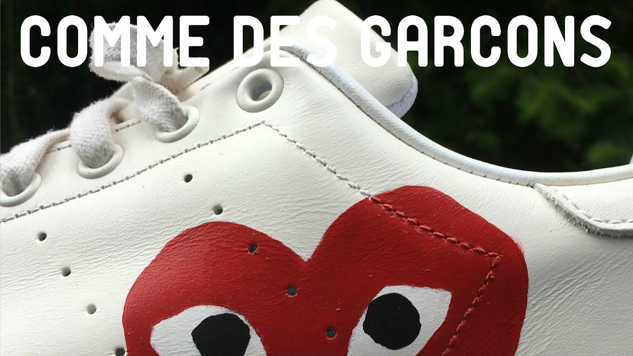 Stan Smith x Comme des Garçons - YouTube a350023ed
