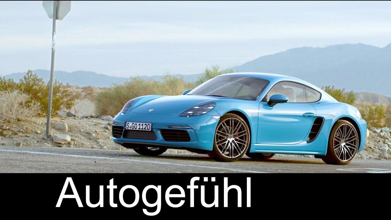 New Porsche 718 Cayman first look Miami blue preview neu ...