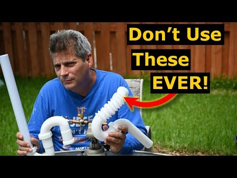 4 Plumbing Parts/Tools You Should NEVER Use. NO Plumbing Fails