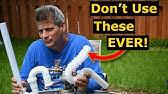 4 Plumbing Parts/Tools You Should NEVER Use. NO Plumbing Fails