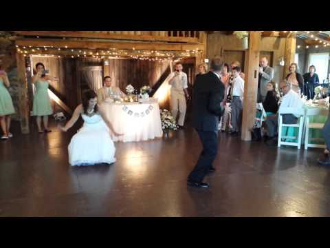 Holly and Tony-Surprise and Funny Father/Daughter Dance