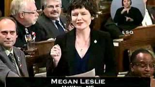 Question Period, 1 December 2011 (Parliament of Canada): The Environment