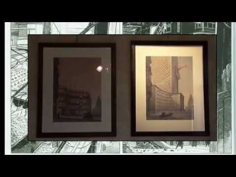 Zeichnungen von François Schuiten - Ausstellung und Neuerscheinung