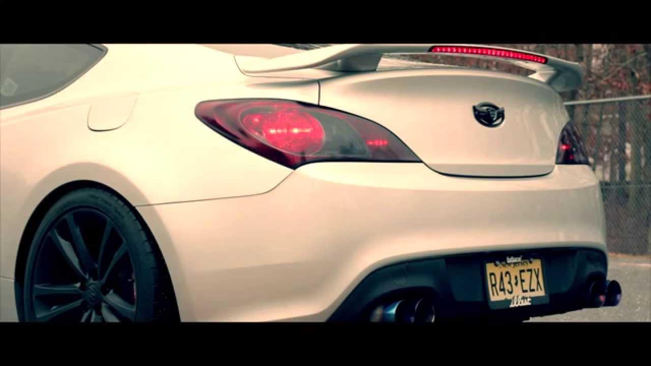 Muffler Delete Cost >> Hyundai Genesis Coupe 3.8 Exhaust (Muffler Delete) - YouTube