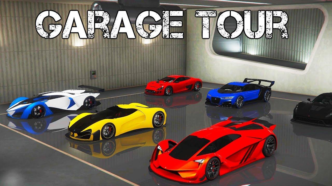 Η ΣΥΛΛΟΓΗ με τα ΟΧΗΜΑΤΑ μου στο GTA Online! | $715,057,935 Garage Tour