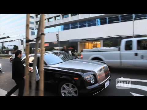 Rolls Royce Phantom Coupe: Dr Dre Leaves Hollywood Hotspot BOA.
