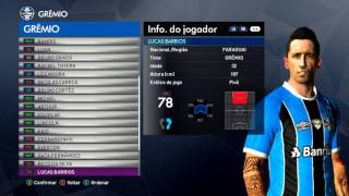 PES 2017 -BMPES 5.02 - TODAS FACES GRÊMIO - PC