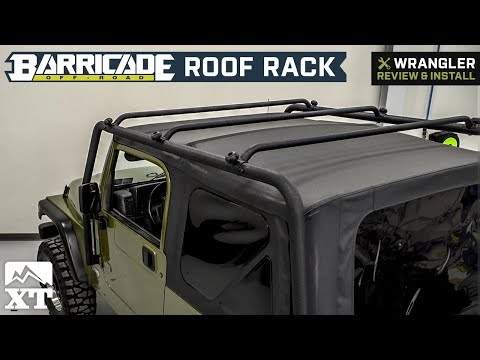 Jeep Wrangler Barricade Roof Rack - Textured Black (1997-2006 TJ) Review & Install