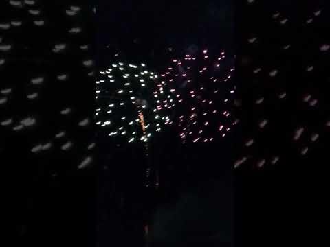 Calistoga Speedway Fireworks show 2018