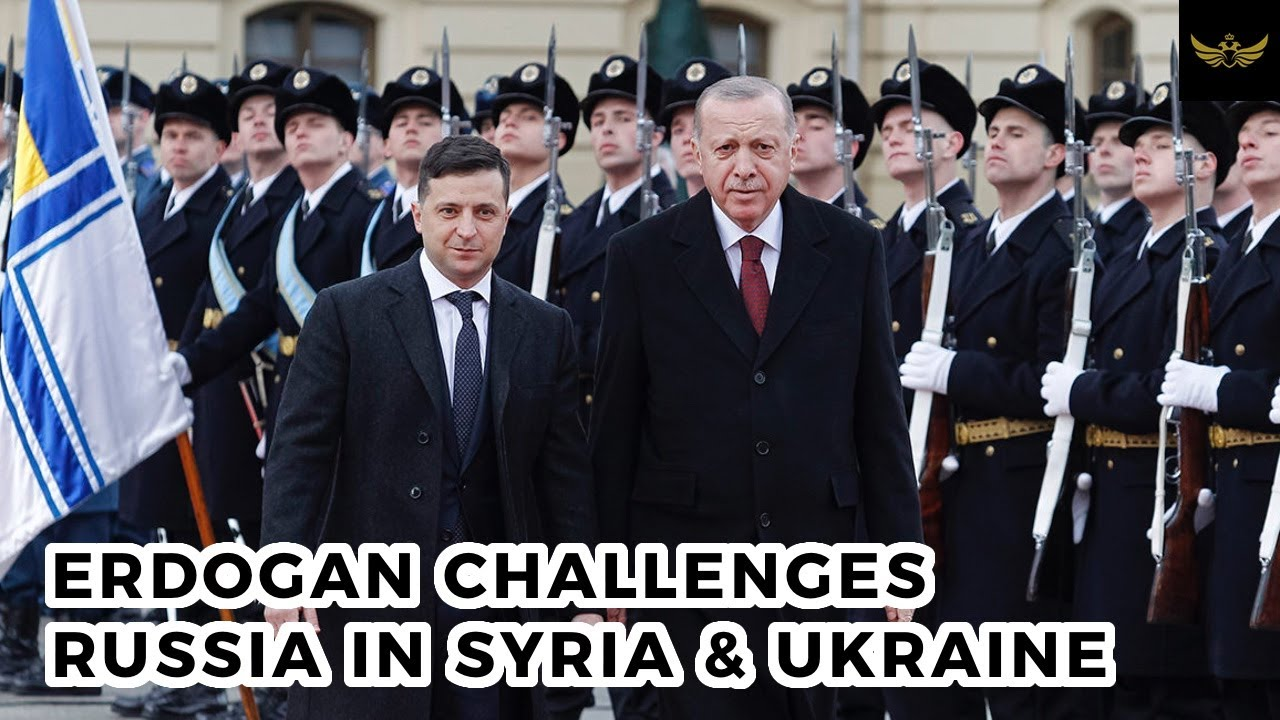 Russian diplomacy cracks as Erdogan challenges Russia in Syria & Ukraine