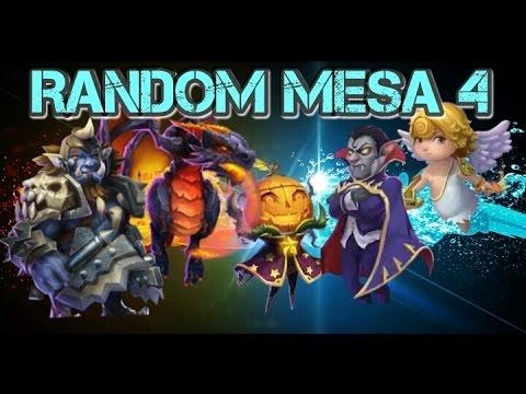 Castle Clash Random Mesa 4!