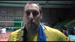 15-03-2017: #A2MVolley - Roberto Cazzaniga nel post New Mater-Mondovì 3-0