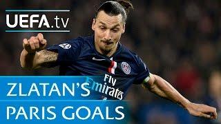 Zlatan Ibrahimović goals: Watch all of his strikes for Paris-Saint Germain