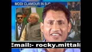 Narendra Modi Song By Rocky Mittal Aai Modi Ki Aandhi