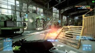 Battlefield 3 PC Close Quarters 64 Player Gameplay 1000 Tickets Scrap Metal 21 August 2012
