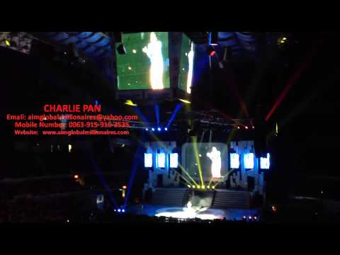 Neil on Beat Box Performed during Aim Global 8th Year Annive