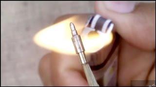 membuat peluru dari pucuk pulpen