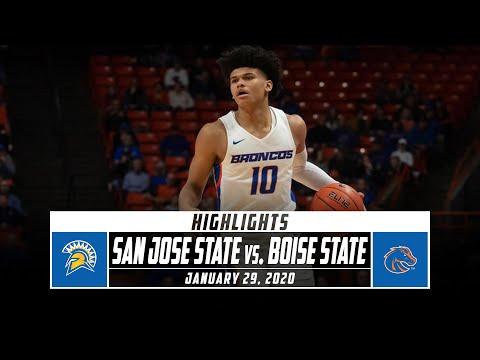 San Jose State Vs. Boise State Basketball Highlights (2019-20) | Stadium