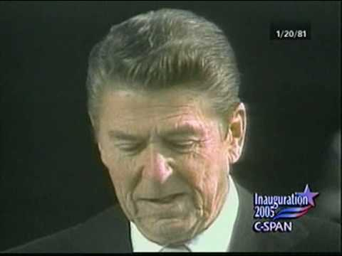 Download Youtube: C-SPAN: President Reagan 1981 Inaugural Address