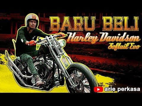 Akhirnya Punya Juga !!! Harley Davidson Soft Tail Evo
