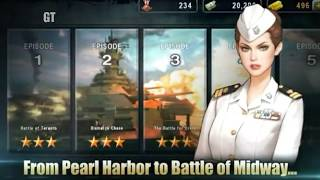 WARSHIP BATTLE: 3D - Android Gameplay HD