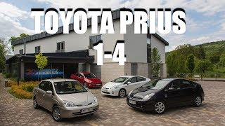 Is there a good Prius? (ENG) - Driving Toyota Prius Generations 1-4