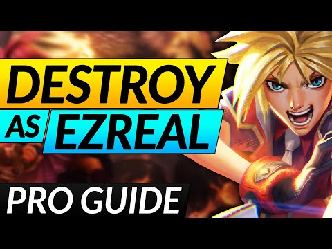 The ULTIMATE EZREAL Guide - SECRET Tricks, Combos and Builds YOU NEED - LoL Challenger ADC Tips