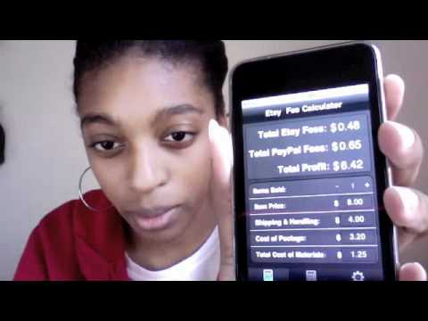 """Marian Ruth iPhone/iPod App Review """"Etsy Fee Calcu..."""