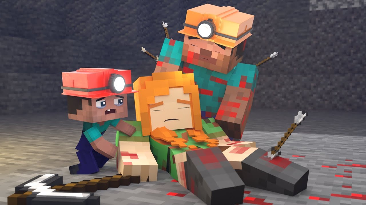 The minecraft life of Steve and Alex | What we have, we do not value | Minecraft animation